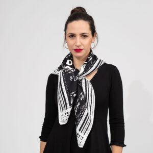 Μαντήλι Black & white